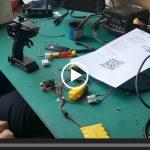 SNRM69 4通道2.4G遥控测试