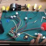 SNRM95  16通道遥控+接收板部分比例视频演示